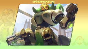 Overwatch #9: Orisa by Holyknight3000