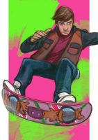 Daily Sketches Marty McFly by fedde