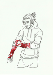 Day 28: Bandages by ghoulchris