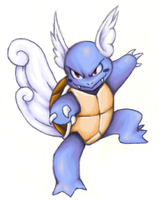 Wartortle - colored by rustyyy