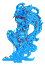 MGC_Day 3 Slime Girl by f-sonic