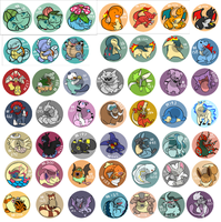 Pokemon Charms etc. by CasFlores
