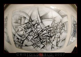 X2 Abstract Drawing 2007 by CristoILDiablo