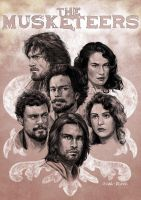 The Musketeers by mirana