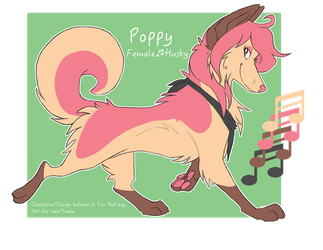 Poppy Ref by FoxHolliday