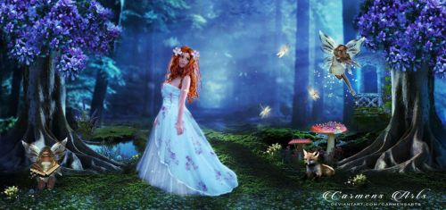 Forest Fairies by CarmensArts