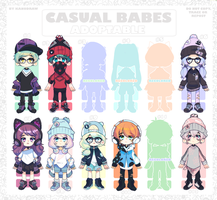 Adoptable: Casual Babes Batch 7 [CLOSED] by amepan