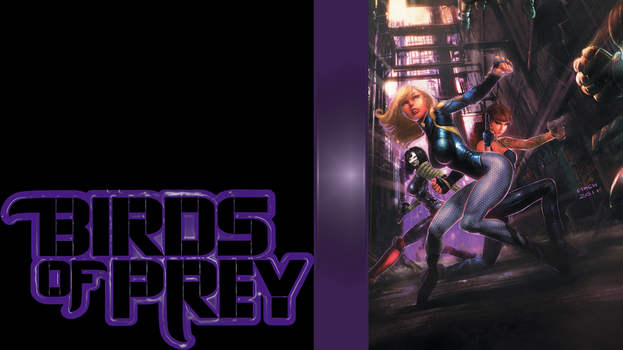 Birds of Prey WP by melusineblack