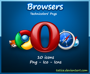 Browsers - Navigateurs by tatice