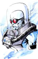 Mr Freeze - 2015-11-06 by CreeesArt