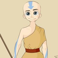 Very old job - Aang by SouppyMan