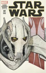 General Grievous Sketch Cover by Geekincognito