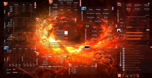 OverClock 1.2.5 - Rainmeter Skin for Overclockers by HossUK