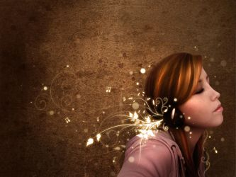 Listen to the Music-Wallpaper by Sugargrl14