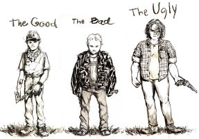 The Good, The Bad, The Ugly by croovman
