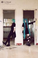 The Hatsune's by HauntedKing