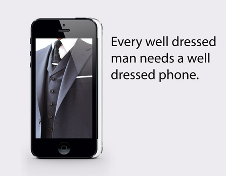 well dressed iPhone wallpaper by will-yen