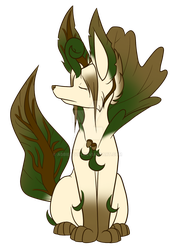 Maple Leafeon by AbbieGoth