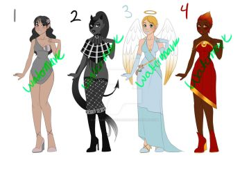 LOWERED-ADOPTS-SET PRICE-2/4 OPEN by Artlover4lifeHannah
