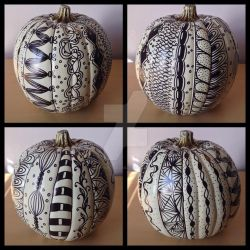 Tangled Pumpkin by alphabetsalad