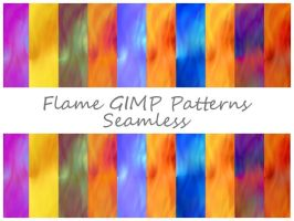 Flame GIMP Patterns by Jedania