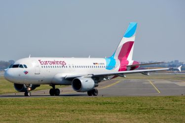 D-ABGN - Airbus A319-112 - Eurowings by mysterious-one
