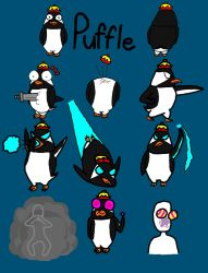 PS Practice: Puffle Ref by FutureSoulSurvivor