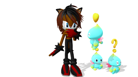 With some Chao by Gheroes48