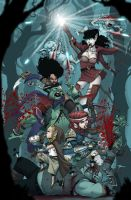 Rat Queens by johnnyrocwell