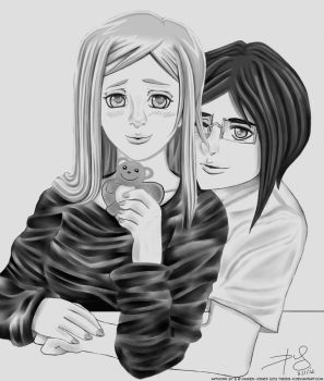 Orihime and Uryu ~My Valentine~ by Thesis-D