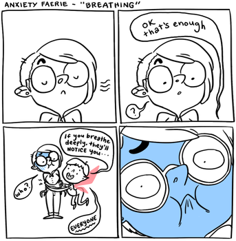 Anxiety Fairy -  Breathing by cesca-specs