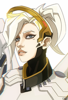 Mercy [Overwatch] by darwh