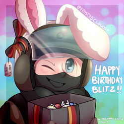 Happy Birthday Blitz!! by FrostedClouds