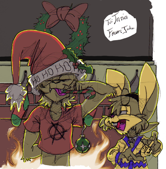 For Taz, Late Christmas by SmithyGCN
