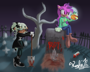 Happy Halloween by conniethehedgecat777