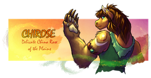 Chirose Banner - WoW Druid by evion