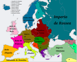 An Europe (with Romance altlang names) by Artaxes2