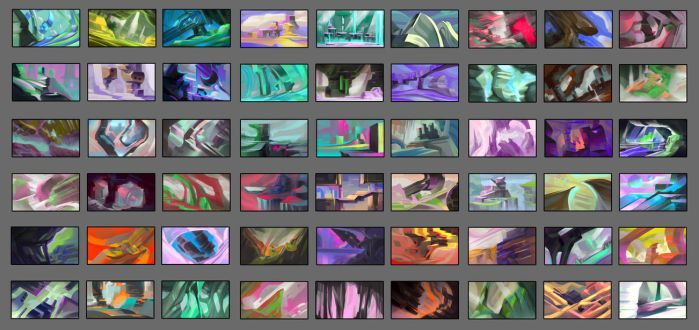 daily color studies by mcnostril