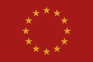 Alternate Europen Union flag by Arminius1871