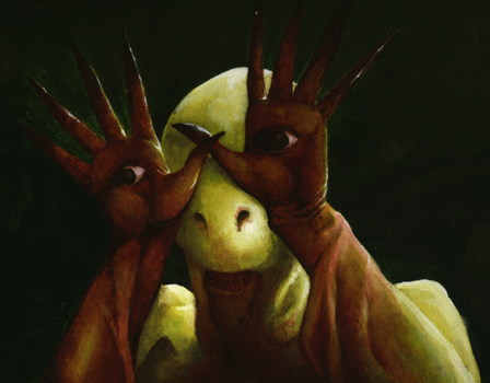 Mr. Hands - Pan's Labyrinth by 60-Six