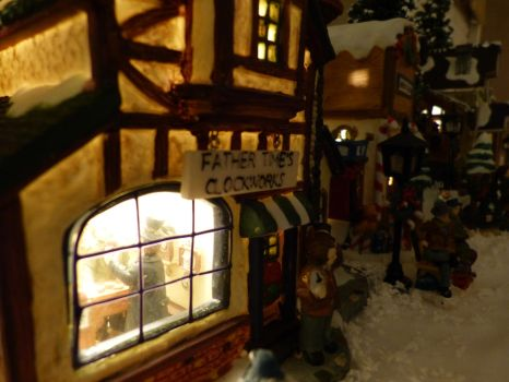 2012 Christmas Village by Royce-Barber