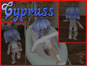 Cypruss in Second life (CM) by tailslover42