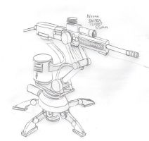 Imperial Sniper Turret by Imperator-Zor