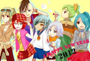 Happy New Year with Inz11 by naYEAH