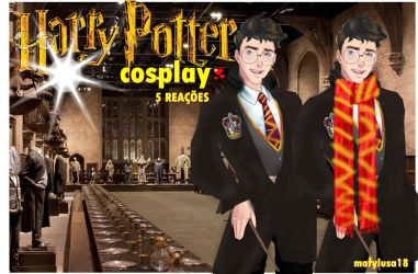 AMOR DOCE-COSPLAY  HARRY POTTER CDM by Marylusa18