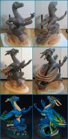 Commission Example : Athus Tribute by emilySculpts