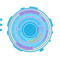 SAO Login Tech Circle - Scalable Vector Graphic by darkblackswords