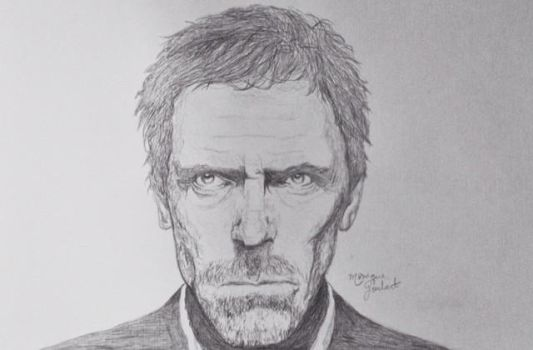 Dr House by antonellafiore