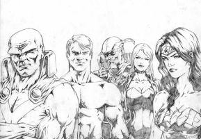 jla by santiagocomics