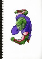 Piccolo by galaxyokami